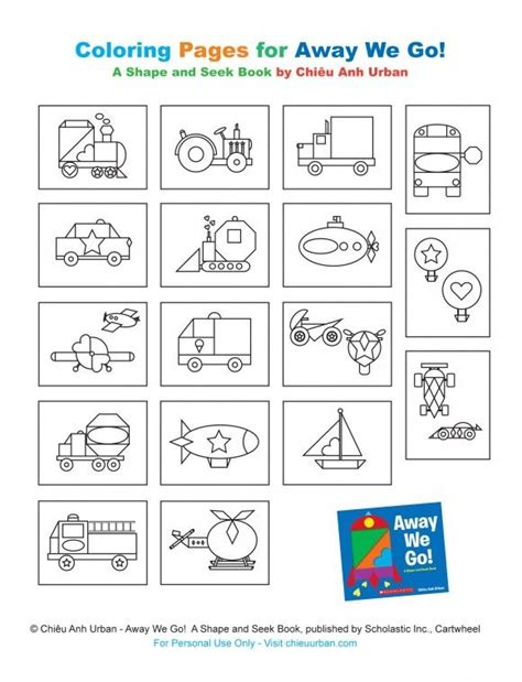 transportation party printables coloring