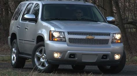 chevrolet tahoe drive time review  steve hammes