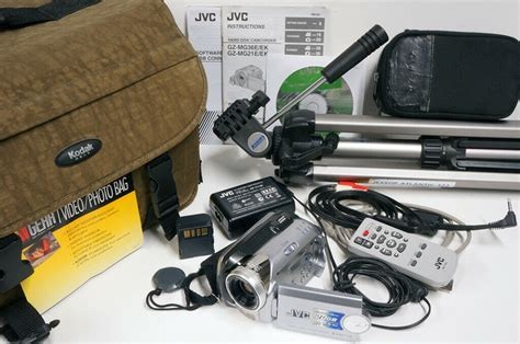 jvc everio zoom hard disk camcorder hackney