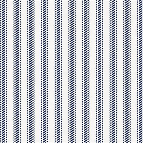 toddler bed navy ticking stripe fabric by the yard navy