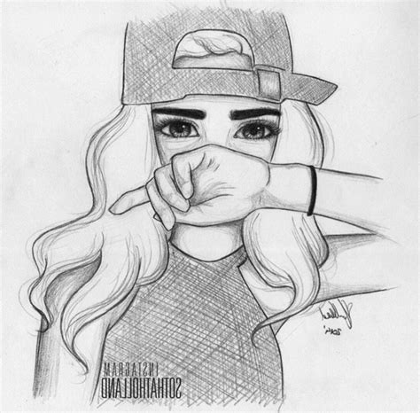 draw  cute girl easy