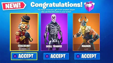 fortnite gifting system  gifts release