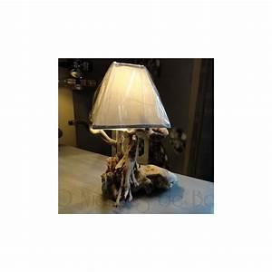 Lampe Chevet Bois Flotté : lampe de chevet bois flott ~ Teatrodelosmanantiales.com Idées de Décoration