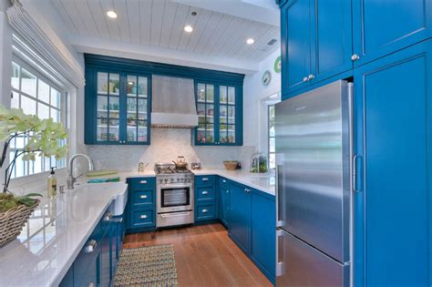 cobalt blue kitchen cabinets interior design ideas interiors by color 5517
