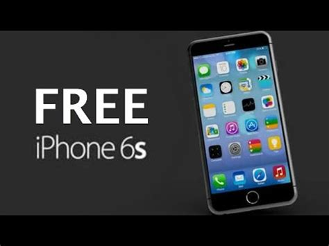 free iphone how to get a free iphone 6s new iphone 6s giveaway