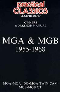 Mg Mga Mgb Gt 1955 1968 Glovebox Service Repair Manual Brooklands Books Ltd Uk