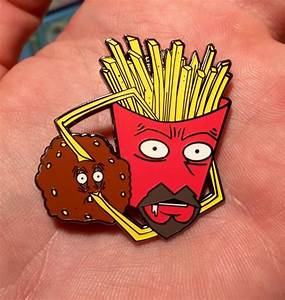 Open Your Eyes Meatwad Hat Pin | Etsy