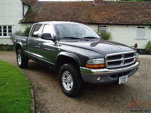 Left Hand Drive 2003 Dodge Ram Dakota 4x4 Slt Quad Cab