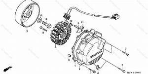 Honda Motorcycle 2002 Oem Parts Diagram For Alternator