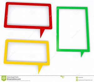 Colored Speech Bubbles Stock Images - Image: 25950294