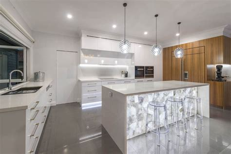 translucent quartz countertops backlit furniture will fill your home with radiance