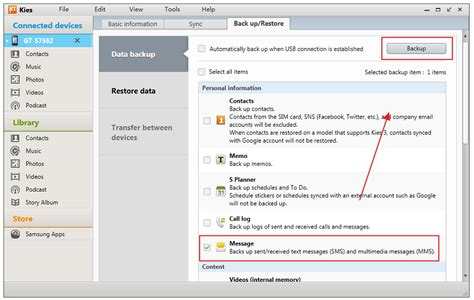 Backup Samsung Mobile by 3 Methodes Om Een Samsung Sms Back Up Te Maken