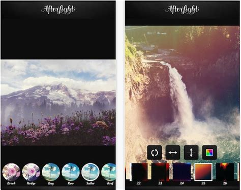 iphone photography filter  effect apps