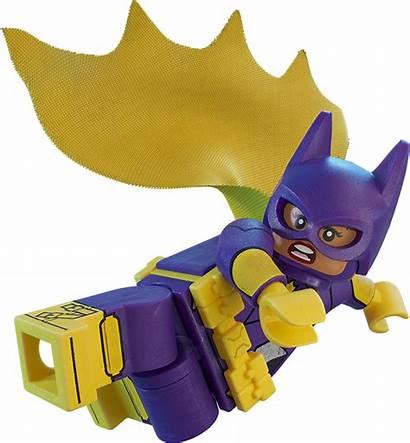 Lego Batman Batgirl Movie Transparent Heroes Dc