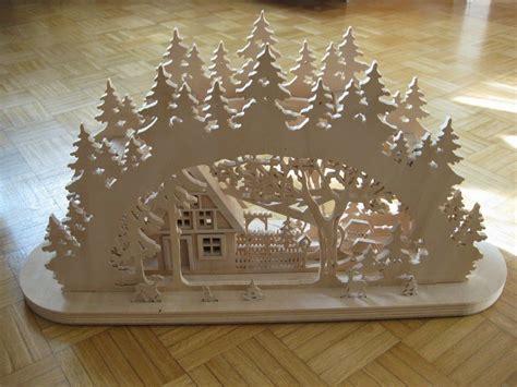 Weihnachtsdeko Holz Erzgebirge by Schwibbogen Selber Bauen S 228 Laubs 228 Ge Beleuchtung