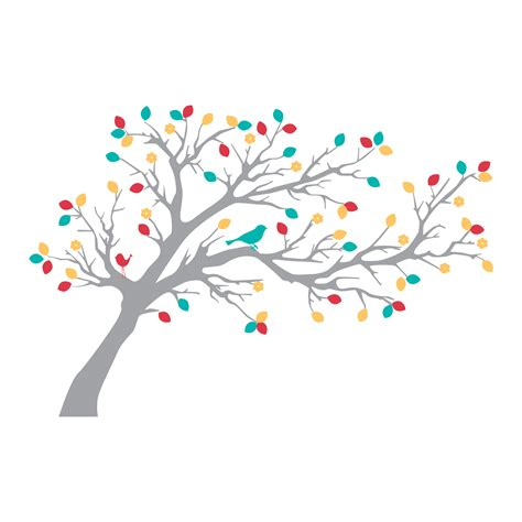 sweet woodland blossoms tree birds wall quotes wall art decal wallquotescom