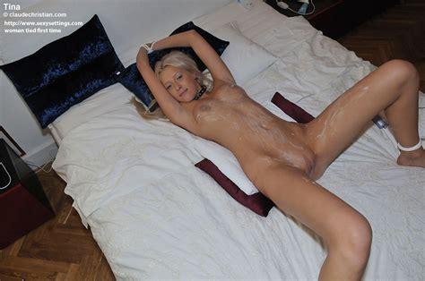 Cutie Tied To Bed Halibutofdoom