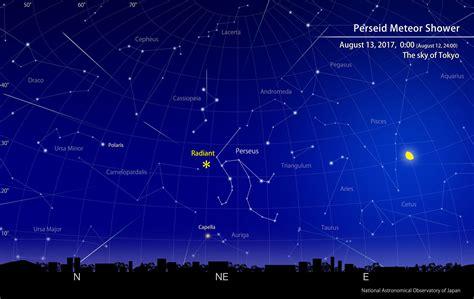 Meteor Shower August 13 - peak of the perseid meteor shower august 2017 naoj