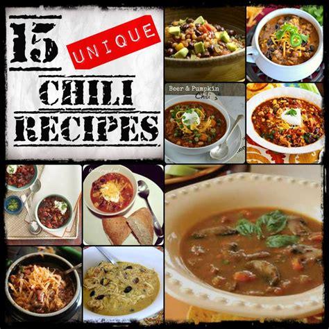 unique chili recipes 15 unique chili recipes from http designedbybh com unique chili recipes the daily blog