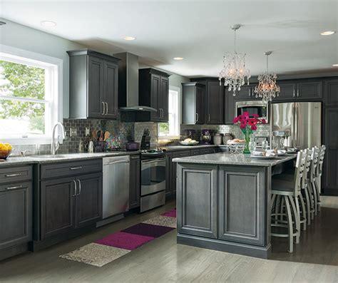 grey maple kitchen cabinets cobblestone grey cabinet color on maple decora 4083