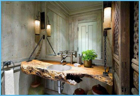 Small Rustic Bathroom Designs by 35 Exceptional Rustic Bathroom Designs Filled With