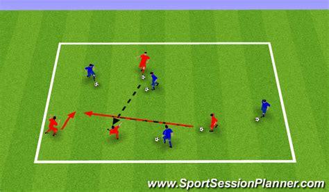 footballsoccer spatial awareness  girls technical