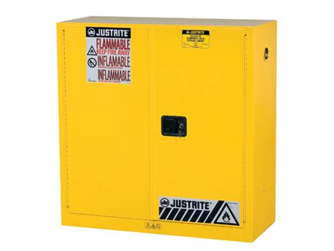 Flammable Safety Cabinet 30 Gallon by Sure Grip 174 Ex Flammable Safety Cabinet Dims 44h Cap 30