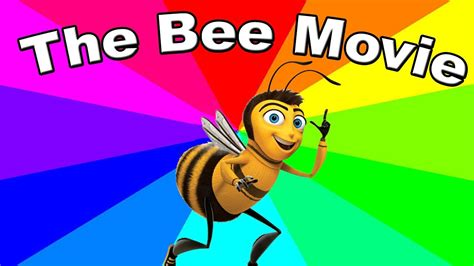 Bee Movie Meme - why is the bee movie script a meme the origin of bee movie memes explained youtube