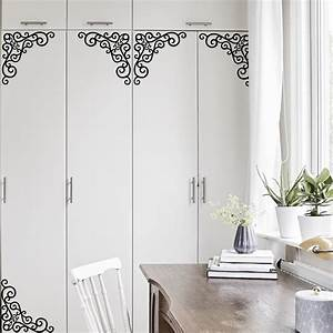 5825cm iron style grilles decorative films for rooms With kitchen cabinets lowes with wall sticker art for kids