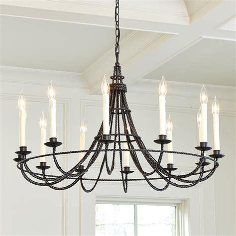 Collins 12  Light Chandelier  Ballard Designs