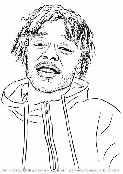 Step Uzi Lil Vert Drawing Rappers Draw