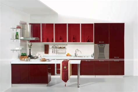 20 Striking Kitchens With Hot Red Lacquer Kitchen Cabinets House Plans With 5 Bedrooms Little Girls Home Depot Bathrooms Design Elara One Bedroom Suite Small Bathroom Ideas Closet Furniture For Storage Solutions