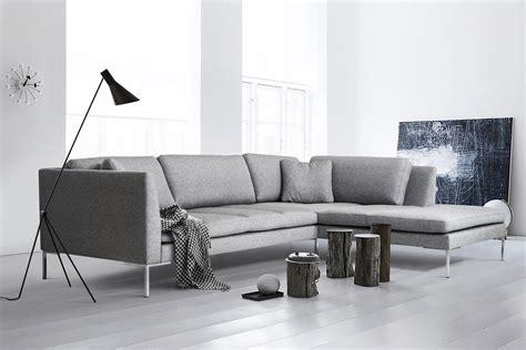 Grau Modern by Ecksofa Felix Modernes Elegantes Designer Sofa Stoff Grau