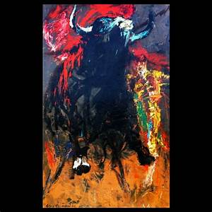 """Moby Dick """"The Fight"""" : Original Artwork by LeRoy Neiman"""