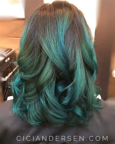 25 Best Ideas About Emerald Hair On Pinterest Emerald