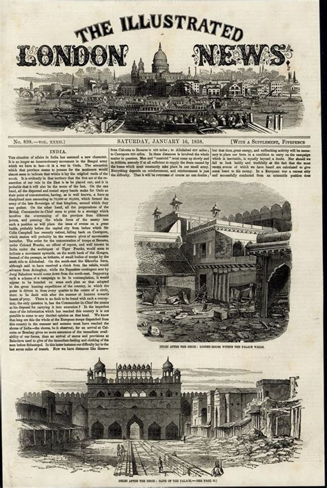 siege vintage delhi after the siege architecture 1858 great