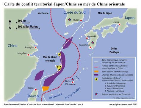 cuisina az la carte du conflit territorial japon chine en mer de