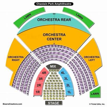 Chastain Seating Park Chart Amphitheatre Table State
