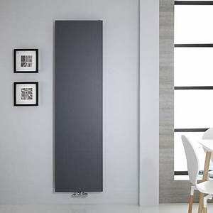 Heizkörper Flach Vertikal : design flachheizk rper vertikal anthrazit 1549 watt 1800mm x 500mm rubi ~ Orissabook.com Haus und Dekorationen