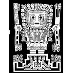 Inca Wiracocha Tattoo Llama Dios Clipart Arte