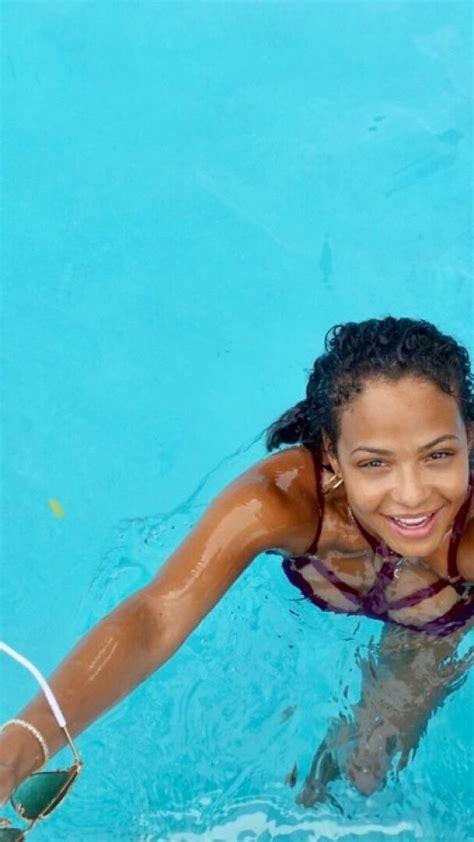 christina milian  bikini social media pics