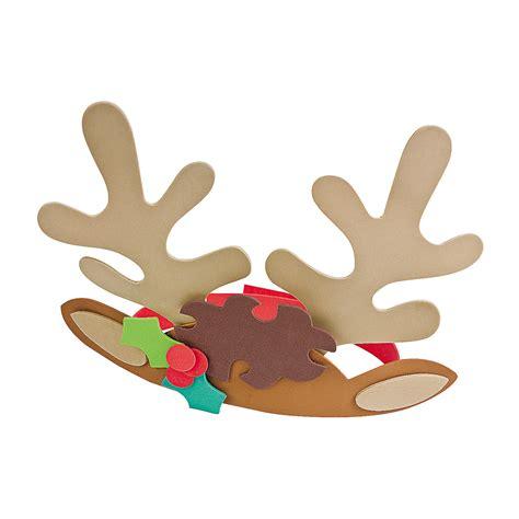 reindeer antler headband craft kit