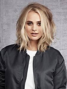 Blonde Mittellange Haare : stufenschnitt halblange haare ~ Frokenaadalensverden.com Haus und Dekorationen