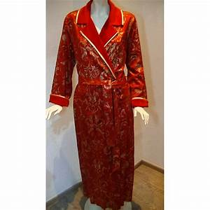 robe de chambre longue femme holidays oo With la robe rouge