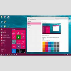 How To Change Color In Windows 10 (start, Taskbar, Title