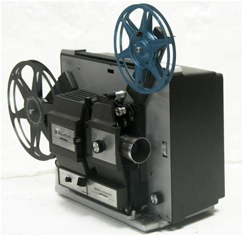 bell howell 456a dual 8mm projector w 200 hr djl