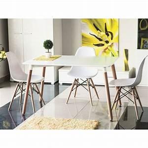Table Cuisine Scandinave : table de cuisine 120 cm nolan scandinave plateau blanc ~ Melissatoandfro.com Idées de Décoration