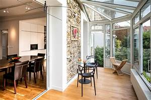Veranda Verriere : v randa avec chaise longue et petite table contemporain ~ Melissatoandfro.com Idées de Décoration