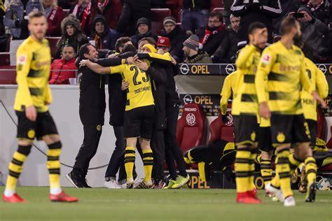 17/05/2020 bundesliga game week 26 ko 15:30 venue rheinenergiestadion (köln) m. FSV Mainz 05 0-2 Borussia Dortmund: Stoger debut sees BVB ...
