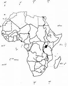 Blank Map Of Africa Geography